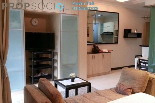 For Sale Apartment at Ritze Perdana 1, Damansara Perdana Freehold Fully Furnished 1R/1B 350k