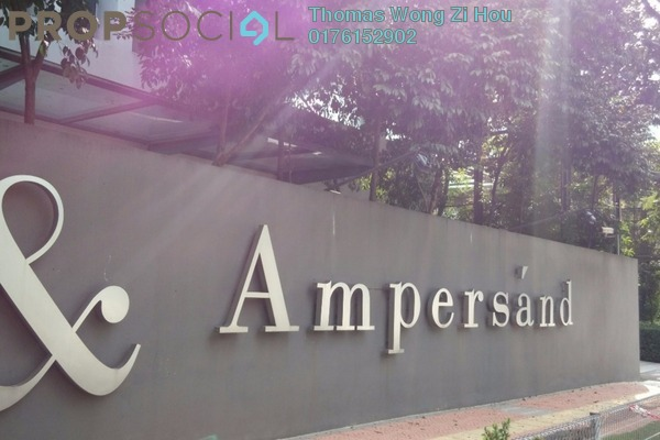 For Sale Serviced Residence at Ampersand, KLCC Freehold Semi Furnished 3R/4B 2.46m
