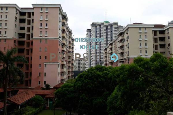 For Rent Townhouse at Pelangi Heights, Klang Freehold Fully Furnished 3R/2B 1.2k