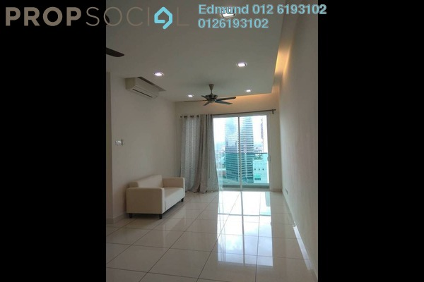 For Rent Condominium at Glomac Damansara, TTDI Freehold Semi Furnished 2R/2B 2.5k