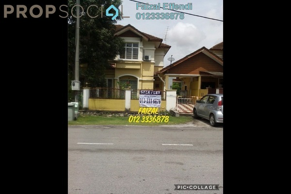 For Rent Terrace at Bandar Puncak Alam, Kuala Selangor Freehold Semi Furnished 3R/2B 1.1k