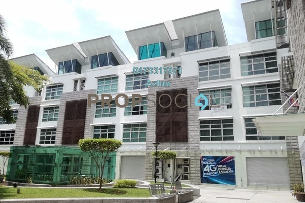 For Sale Shop at Laman Seri, Shah Alam Freehold Unfurnished 0R/8B 4m