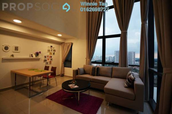 For Rent Serviced Residence at Solstice @ Pan'gaea, Cyberjaya Freehold Semi Furnished 2R/2B 2.2k