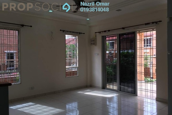 For Rent Terrace at Alam Budiman, Shah Alam Freehold Semi Furnished 4R/4B 1.85k