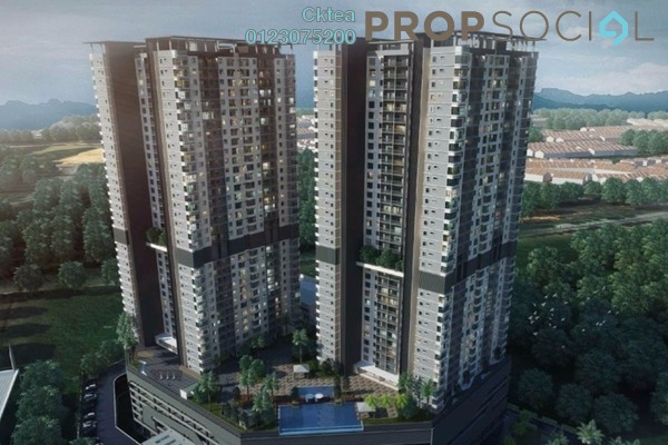 For Sale Condominium at Paraiso @ The Earth Bukit Jalil, Bukit Jalil Freehold Unfurnished 2R/2B 499k