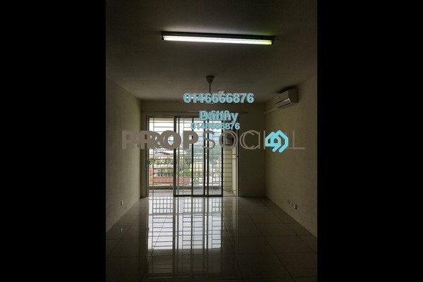 For Rent Condominium at Platinum Lake PV20, Setapak Freehold Unfurnished 3R/2B 1.85k