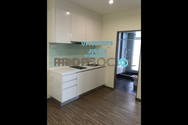 For Rent Condominium at ZetaPark, Setapak Freehold Semi Furnished 1R/1B 1.4k