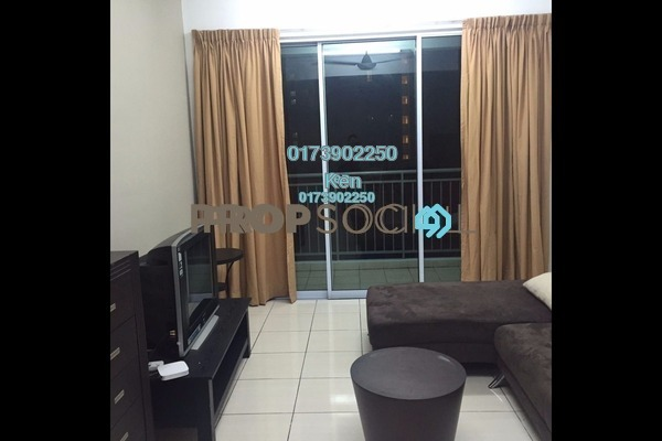 For Rent Condominium at Ken Damansara III, Petaling Jaya Freehold Semi Furnished 3R/2B 2.2k
