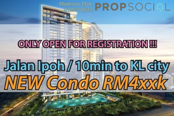 For Sale Condominium at Rica Residence, Sentul Freehold Unfurnished 3R/2B 555k