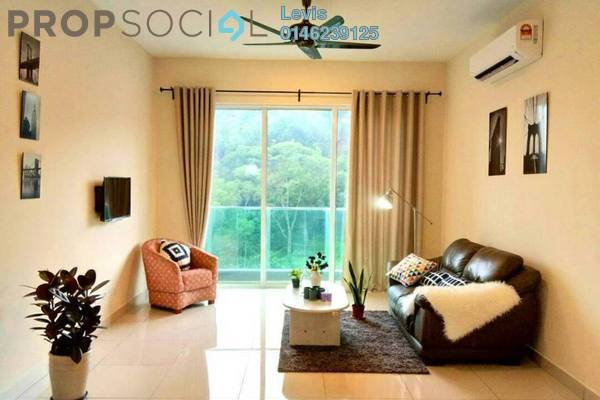 For Rent Condominium at Green Residence, Cheras South Freehold Fully Furnished 3R/2B 2.8k