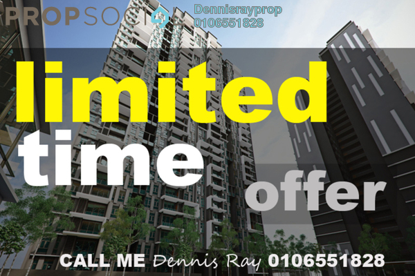For Sale Condominium at Green Residence, Cheras South Freehold Semi Furnished 4R/4B 750k