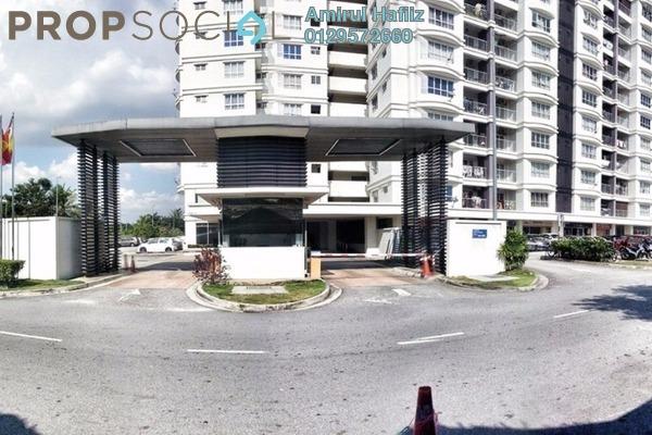 For Sale Condominium at Suri Puteri, Shah Alam Freehold Semi Furnished 3R/2B 399k