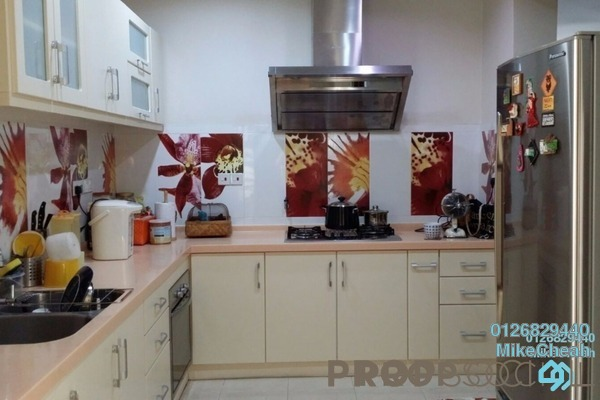For Rent Condominium at Riana Green East, Wangsa Maju Freehold Fully Furnished 3R/3B 3.5k