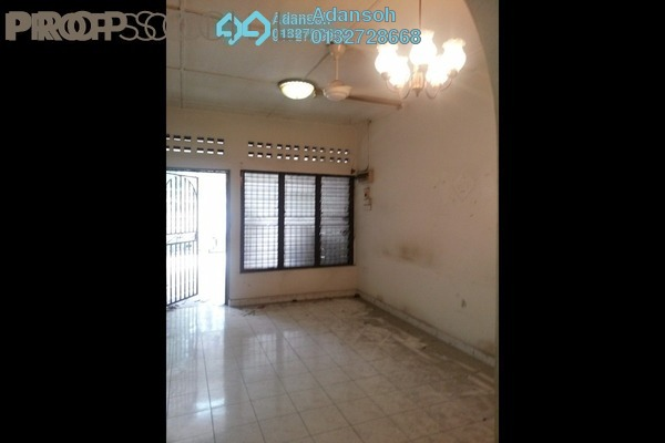 For Sale Terrace at Kepong Baru, Kepong Freehold Semi Furnished 3R/2B 650k