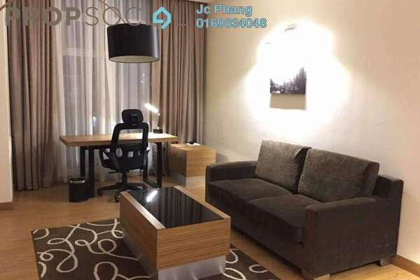 For Rent SoHo/Studio at Dua Sentral, Brickfields Freehold Fully Furnished 1R/1B 2k