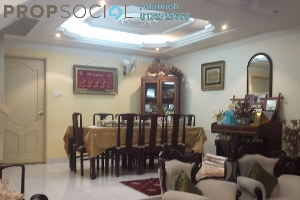 For Sale Terrace at Taman Sri Bintang, Kepong Freehold Semi Furnished 4R/3B 1.19m