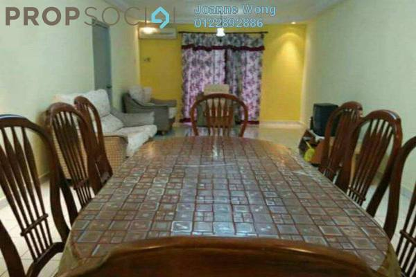 For Sale Condominium at Endah Ria, Sri Petaling Freehold Fully Furnished 3R/2B 520k