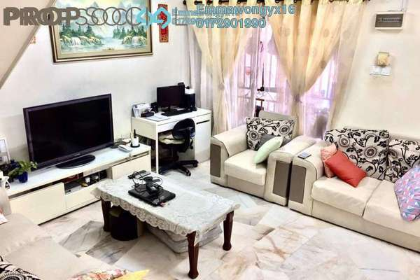 For Sale Terrace at Taman Jinjang Baru, Jinjang Leasehold Semi Furnished 4R/3B 570k