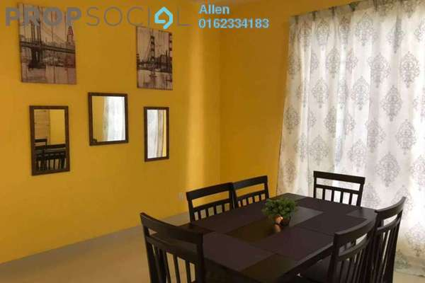 For Rent Condominium at Platinum Hill PV2, Setapak Freehold Fully Furnished 3R/2B 2.5k