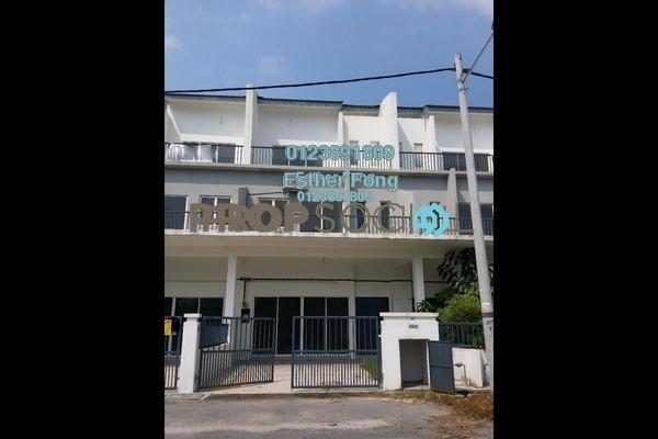 For Rent Terrace at Kampung Rawang Tin, Rawang Freehold Semi Furnished 2R/2B 1.2k