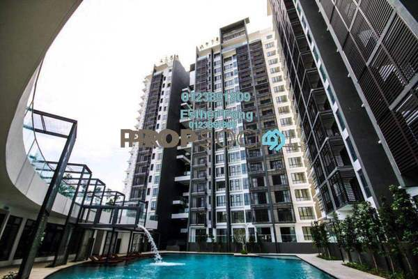 For Rent Condominium at Selayang 18, Selayang Freehold Semi Furnished 3R/2B 1.8k