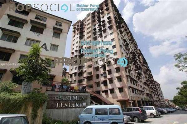 For Sale Apartment at Lestari Apartment, Damansara Damai Leasehold Semi Furnished 3R/2B 118k