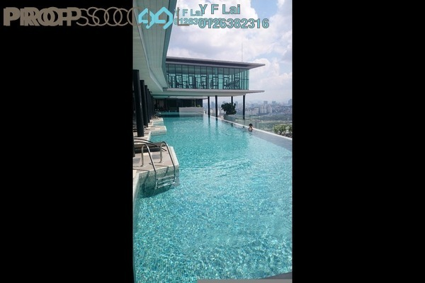 For Sale Condominium at The Leafz, Sungai Besi Freehold Semi Furnished 3R/2B 808k