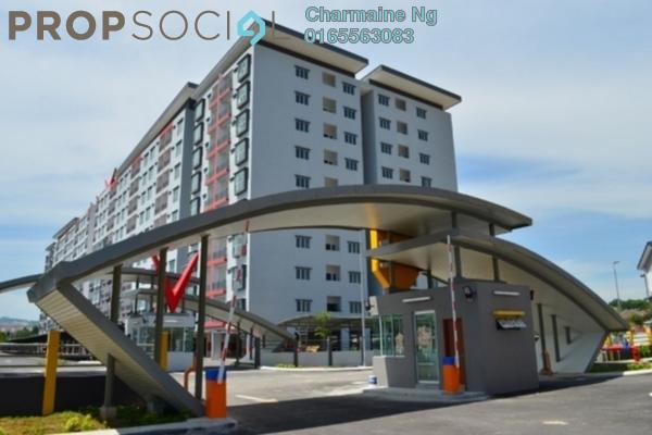 For Sale Apartment at Suria Residence, Bandar Mahkota Cheras Freehold Unfurnished 3R/2B 400k