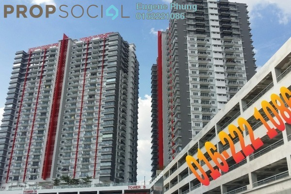 For Rent Condominium at Koi Prima, Puchong Leasehold Unfurnished 3R/2B 1.5k