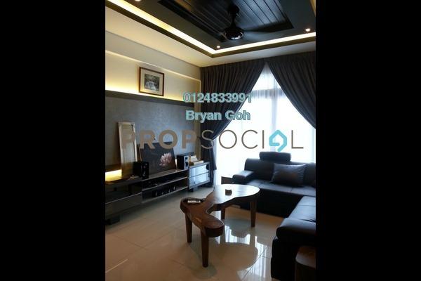 For Rent Condominium at Promenade Residence, Bayan Baru Freehold Fully Furnished 2R/2B 2.2k