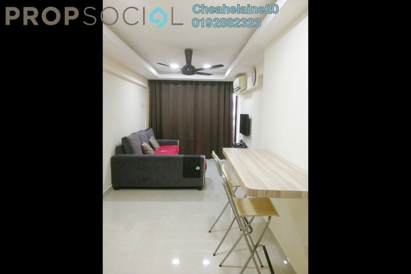 For Sale Apartment at Sri Saujana, Kepong Freehold Semi Furnished 3R/1B 230k
