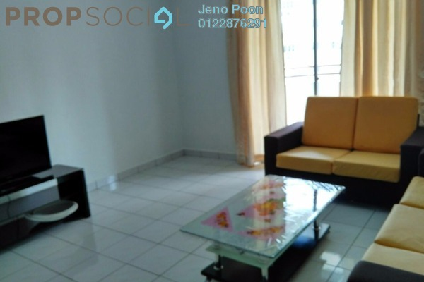 For Rent Condominium at Endah Ria, Sri Petaling Freehold Fully Furnished 3R/2B 1.8k