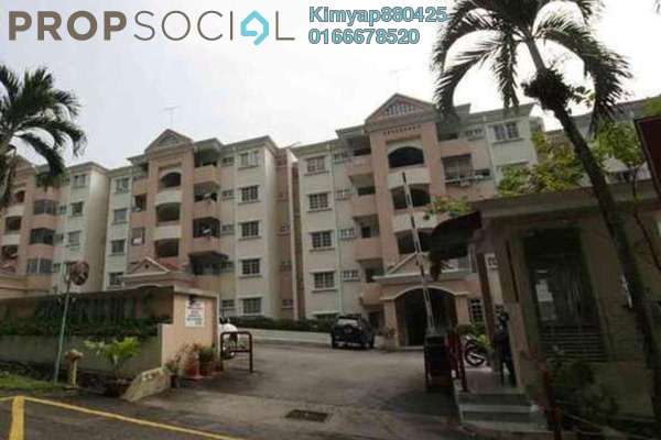 For Sale Apartment at Greenhills, Selayang Freehold Unfurnished 3R/2B 270k