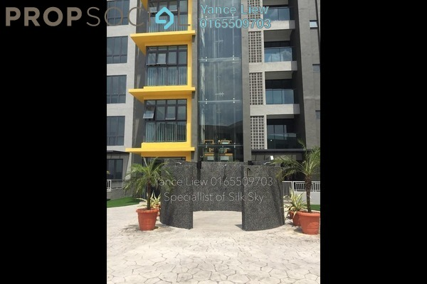 For Rent Serviced Residence at Silk Sky, Balakong Freehold Semi Furnished 3R/2B 1.3k