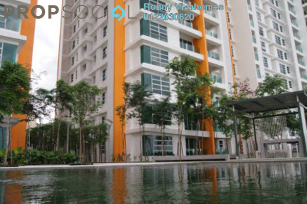 For Sale Condominium at The Zest, Bandar Kinrara Freehold Semi Furnished 3R/2B 598k