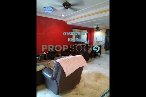 For Sale Terrace at Taman Sentosa Perdana, Klang Freehold Semi Furnished 4R/3B 458k
