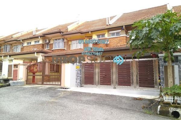 For Sale Terrace at Section 4, Bandar Mahkota Cheras Freehold Semi Furnished 4R/3B 678k