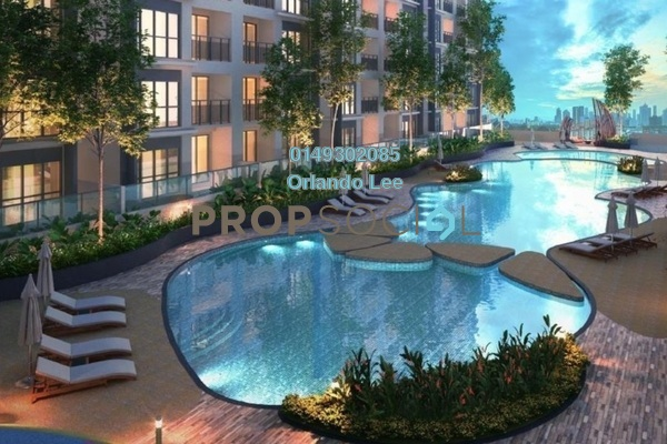 For Sale Condominium at The Holmes 2, Bandar Tun Razak Freehold Unfurnished 3R/2B 372.0千