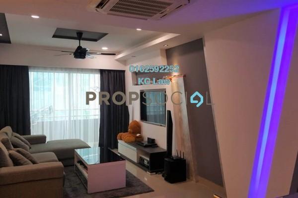 For Sale Condominium at Kinrara Mas, Bukit Jalil Freehold Fully Furnished 3R/2B 540k