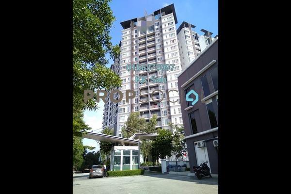 For Sale Condominium at The iResidence, Bandar Mahkota Cheras Freehold Fully Furnished 3R/2B 508k