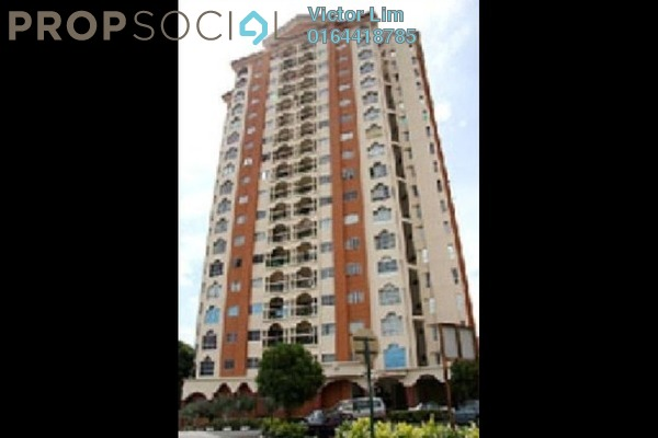 For Rent Condominium at La Vista, Bandar Puchong Jaya Freehold Semi Furnished 3R/3B 1.5k