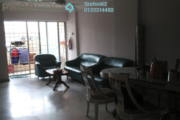 For Sale Condominium at La Villas Condominium, Setapak Freehold Semi Furnished 3R/2B 410k