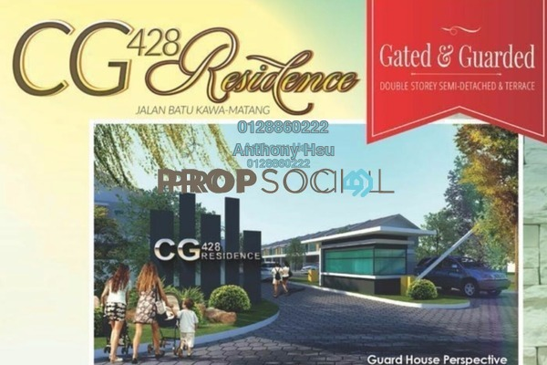 For Sale Terrace at CG 428, Kuching Freehold Unfurnished 4R/3B 410k