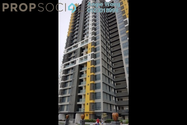 For Sale Condominium at Silk Sky, Balakong Freehold Unfurnished 1R/1B 320k