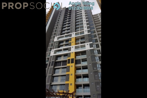 For Sale Condominium at Silk Sky, Balakong Freehold Semi Furnished 2R/1B 440.0千