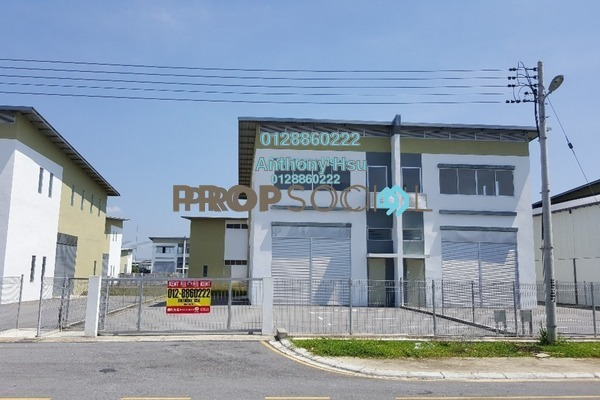 For Rent Factory at Muara Tabuan Light Industrial Park, Kuching Freehold Unfurnished 0R/2B 3k
