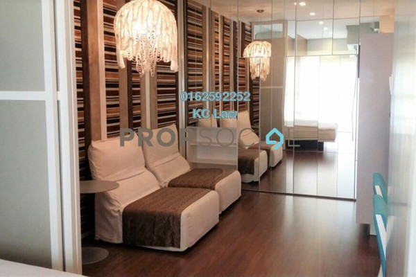 For Rent Serviced Residence at VERVE Suites, Mont Kiara Freehold Fully Furnished 1R/1B 2.3k