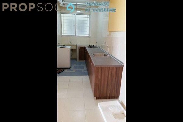 For Rent Condominium at Platinum Lake PV13, Setapak Freehold Semi Furnished 4R/2B 2.1k