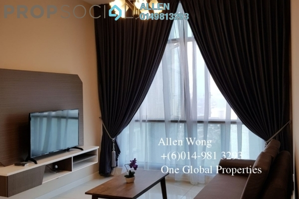 For Rent Condominium at Setia Sky 88, Johor Bahru Freehold Fully Furnished 2R/1B 2.4k