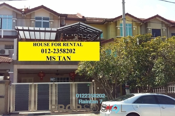 For Rent Terrace at Zone M, Sri Petaling Freehold Semi Furnished 5R/5B 3.5k